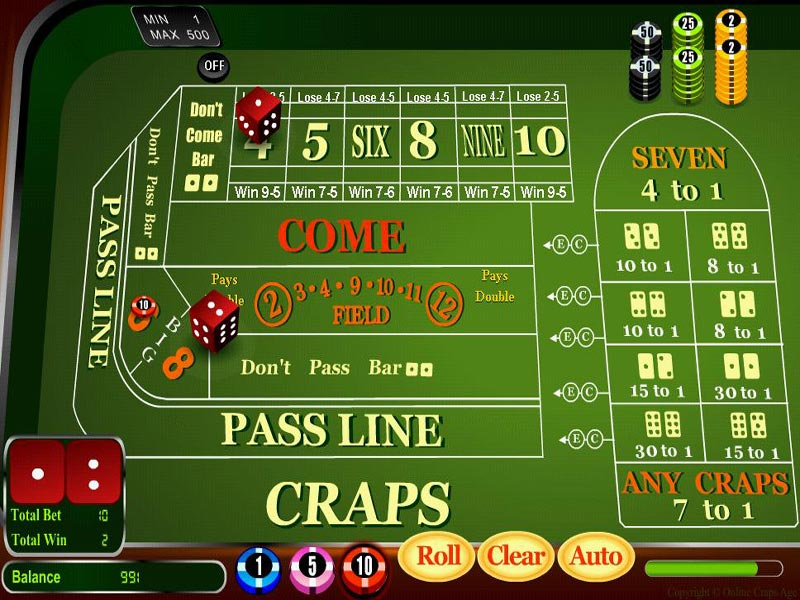 Click to view Craps Age 2.4 screenshot